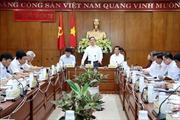 Đoàn Tiểu ban Văn kiện và Tiểu ban Điều lệ Đảng làm việc tại tỉnh Bà Rịa - Vũng Tàu