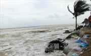 Nhiều tuyến kè biển Hội Anbị sóng biển 'tấn công', sạt lở nghiêm trọng