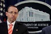 Thứ trưởng Bộ Tư pháp Mỹ từ chức sau vụ giám sát Nga can thiệp bầu cử