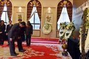 Lễ viếng và mở sổ tang nguyên Chủ tịch nước, Đại tướng Lê Đức Anh tại Trung Quốc