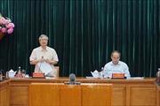 Đoàn Tiểu ban Văn kiện Đại hội XIII làm việc với Ban Thường vụ Thành ủy TP Hồ Chí Minh
