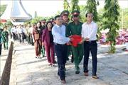 Bình Thuận: Truy điệu và an táng bảy hài cốt liệt sỹ hy sinh trong kháng chiến