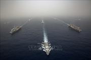 Đối phó với Iran, hải quân Mỹ tập trận tại Biển Arab