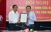 Đồng chí Nguyễn Thanh Hải giữ chức Phó trưởng Ban Nội chính Trung ương