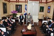 Đoàn đại biểu Đảng ta thăm và làm việc tại Cộng hòa Dominicana