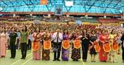 Phó Chủ tịch nước dự Liên hoan Thể dục - Thể thao Phụ nữ toàn quốc năm 2019