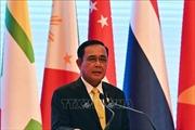 Thủ tướng Thái Lan họp báo quốc tế về kết quả Hội nghị Cấp cao ASEAN lần thứ 34