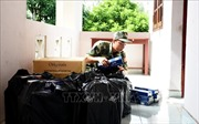 Thu giữ hàng nghìn gói thuốc lá ngoại nhập lậu qua biên giới ở An Giang