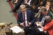 Mong manh khả năng thỏa thuận Brexit qua được 'ải' Quốc hội Anh
