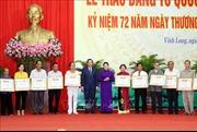 Chủ tịch Quốc hội dự Lễ trao Bằng Tổ quốc ghi công tại tỉnh Vĩnh Long