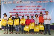 Khám bệnh, tặng quà cho đồng bào có hoàn cảnh khó khăn tại Ninh Thuận