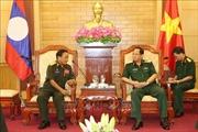 Quân đội Việt Nam và Lào tăng cường hợp tác bảo vệ chính trị nội bộ