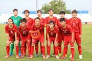 Thắng đậm Myanmar, tuyển nữ Việt Nam đứng đầu bảng B