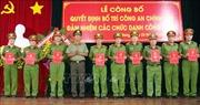 Điều động 427 công an chính quy về làm Công an xã ở An Giang