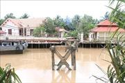 Sà lan va chạm làm sập cầu Sông Mã, thành phố Bến Tre