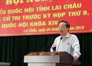 Phó Chủ tịch Quốc hội Phùng Quốc Hiển tiếp xúc cử tri tỉnh Lai Châu