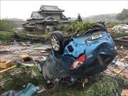 Động đất rung chuyển Tokyo và các tỉnh phụ cận trong lúc siêu bão Hagibis đổ bộ