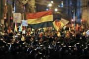 Trung tâm Lao động Bolivia đe dọa tổng đình công nếu trật tự không được vãn hồi
