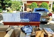 Liên tiếp phát hiện các vụ vận chuyển trái phép thuốc lá ngoại nhập lậu