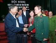 Bộ trưởng Bộ Công an Tô Lâm tiếp xúc cử tri tại Bắc Ninh