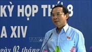 Bí thư Trung ương Đảng Nguyễn Văn Nên tiếp xúc cử tri tại Tây Ninh