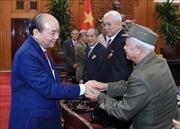 Thủ tướng tiếp Đoàn chiến sĩ cách mạng bị địch bắt tù đày TP Hải Phòng