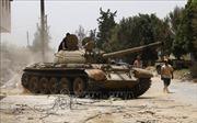 Lực lượng miền Đông Libya tuyên bố ngừng bắn từ ngày 12/1