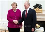 Lãnh đạo Nga, Đức đồng thuận về nhiều vấn đề quốc tế