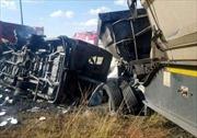 Tai nạn giao thông liên hoàn tại Hàn Quốc, ít nhất 39 người thương vong