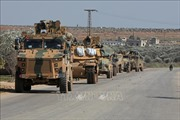 Thổ Nhĩ Kỳ triển khai lượng lớn khí tài quân sự và binh sĩ tới Syria