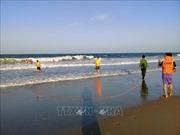 Tìm thấy thi thể du khách bị đuối nước ở biển Phú Yên