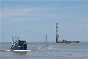 Cà Mau khảo sát về thông tin tua bin điện gió Tân Thuận cản trở giao thông biển