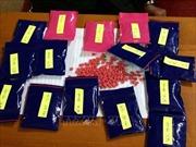 Bắt 3 đối tượng vận chuyển trái phép 18.000 viên ma túy tổng hợp