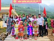 Khánh thành công trình nhà lớp học và trao học bổng Vừ A Dính cho học sinh tỉnh Hà Giang