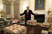 Chính phủ đóng cửa, đầu bếp nghỉ, Nhà Trắng phải đãi khách đồ ăn nhanh