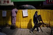 Vũ Hán dựng rào chắn ở chợ dân sinh phòng dịch COVID-19 tái bùng phát