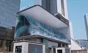 Xem sóng biển 3D vỗ giữa lòng thủ đô Seoul