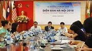 Diễn đàn Hà Nội 2018: Ứng phó biến đổi khí hậu để đảm bảo bền vững và an ninh