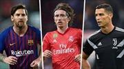 Modric, Ronaldo, Messi cạnh tranh Quả bóng Vàng 2018 France Football