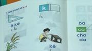 Bộ GD-ĐT: Tài liệu Tiếng Việt lớp 1 dạy đọc theo ô vuông, tam giác là một phương án lựa chọn