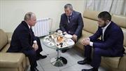 Tổng thống Vladimir Putin chúc mừng võ sĩ Nga đại thắng Conor McGregor