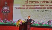 Lễ vinh danh Phong trào thi đua 'Cả nước chung sức xây dựng nông thôn mới'