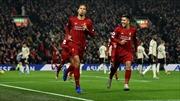 Hạ Man United 2 - 0, Liverpool tiến một bước dài tới ngôi vương