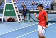 Davis Cup 2019: Tuyển Việt Nam duy trì vị trí nhất bảng