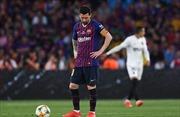 Messi ghi bàn, Barca vẫn gục ngã trước 'bầy Dơi'