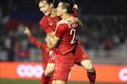Cặp 'song sát' Tiến Linh - Đức Chinh tỏa sáng, U22 Việt Nam dẫn U22 Campuchia 3-0 ngay hiệp 1
