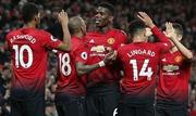 Vòng 20 Ngoại hạng Anh: 'Quỉ đỏ' thăng hoa, thành Manchester mở hội