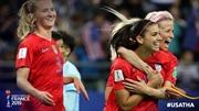 Tuyển nữ Thái Lan thua đương kim vô địch Mỹ 13 bàn