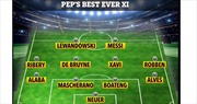 Pep Guardiola - bậc thầy của một siêu đội hình những cầu thủ toàn sao