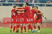 Đánh bại UAE, tuyển Việt Nam lên đỉnh bảng G